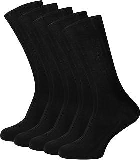 Kits 5 Pares Calcetines de Lana/Cachemira Largos Suave Cómodo para Hombre