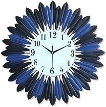 Wall Clock Living Room European-style Fashion Metal Wall Clock Watches Home Decoration 50CM * 50CM LJJCUICAN