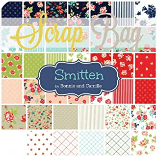 At Home Navy CANVAS 58 wide by Bonnie and Camille for Moda sold by the HALF yard 55200 21CV