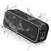 JCY Waterproof Bluetooth Speaker, Outdoor Wireless Speaker with Rich Bass,   Portable Bluetooth Speaker with IPX7 Waterproof, 3D Digital Sound with DSP Technology, Built-in Mic