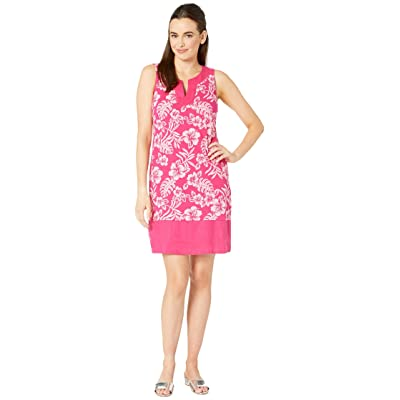 Tommy Bahama Hoani Hibiscus Shift Dress (Rose Bed) Women