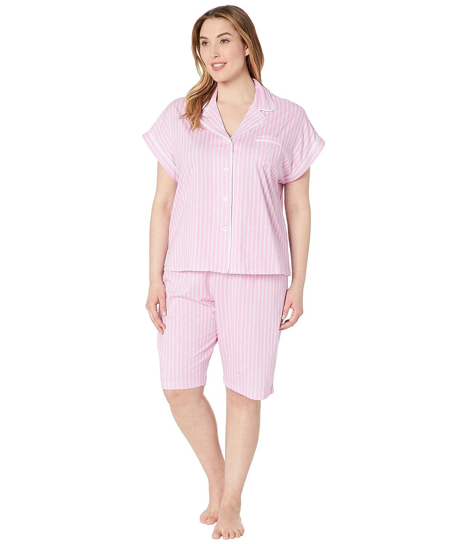 [ラルフローレン] レディース ナイトウェア Plus Size Notch Collar Bermuda Shorts Pa [並行輸入品]
