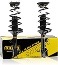 OREDY Rear Pair 2 Pieces Complete Struts Assembly Shock Coil Spring Assembly Kit 171407 171406 1331060R 1331060L Compatible with 2000 2001 2002 2003 2004 2005 2006 Elantra