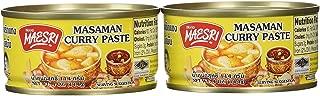 Maesri Thai masaman curry - 4 oz x 2 cans (New Version)
