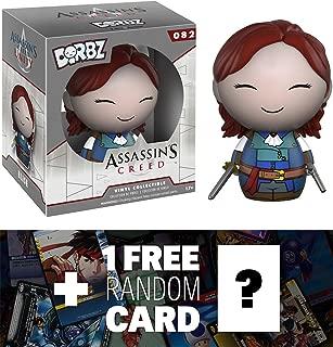 Assassin's Creed Elise: Funko Dorbz x Mini Vinyl Figure + 1 Free Video Games Themed Trading Card Bundle (71301)