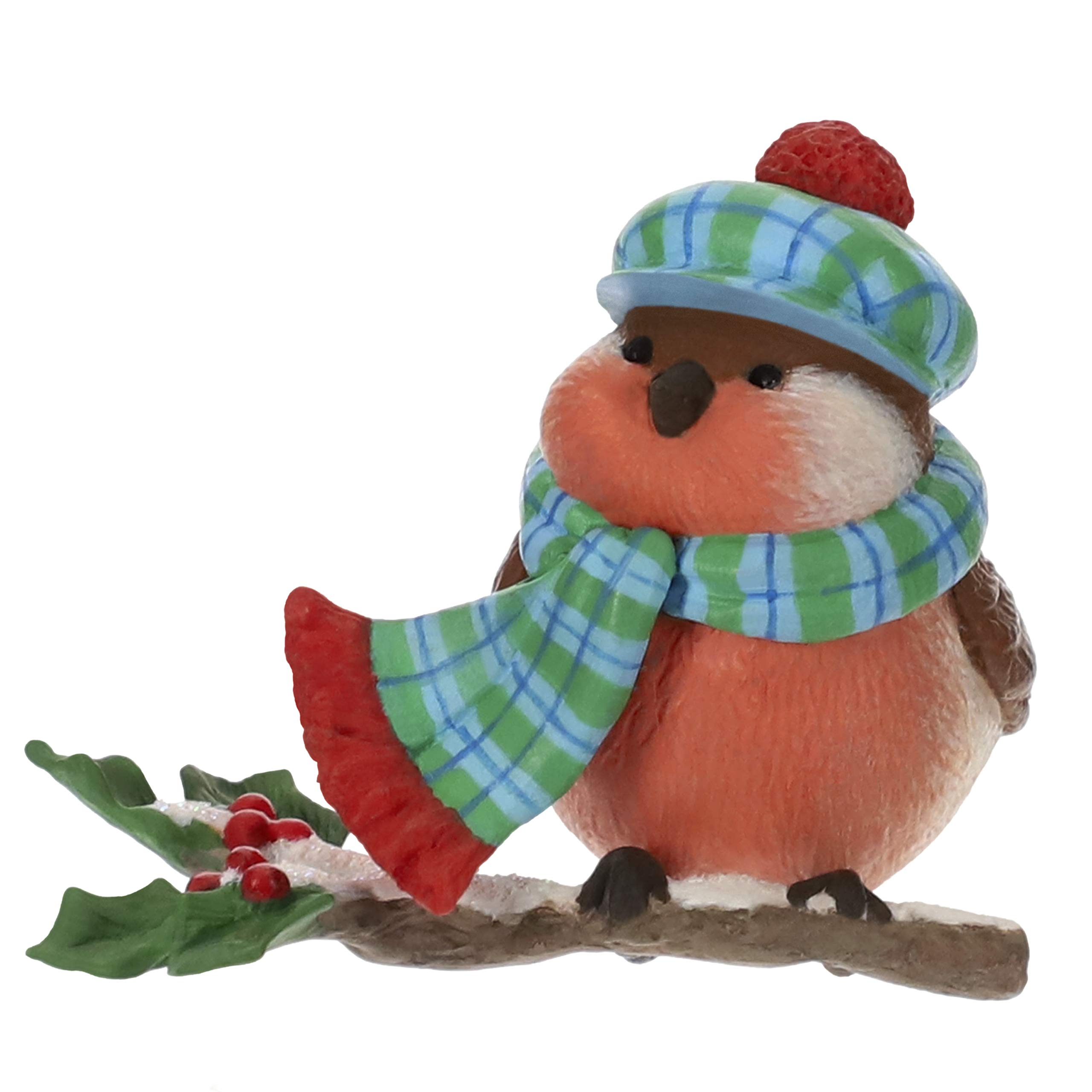 Image of Hallmark Cozy Critters Bird Christmas Ornament