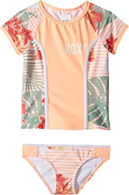Lush Florals Short Sleeve Set (Toddler/Little Kids)