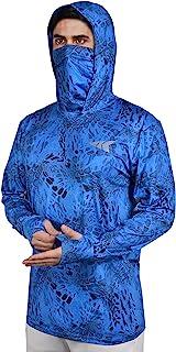 KastKing Men's Hoodie Shirt UPF 50 Long Sleeve Fishing...
