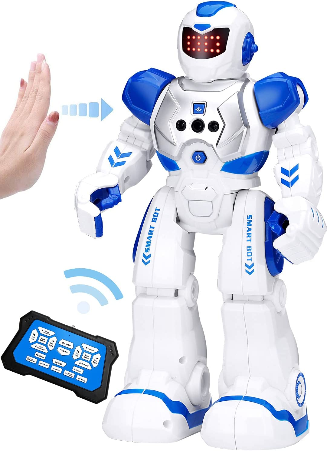 KingsDragon Super beauty product restock quality Max 82% OFF top Robots Toy for Kids Interac RC Sensing Gesture