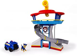 paw patrol launch and roll lookout tower playset