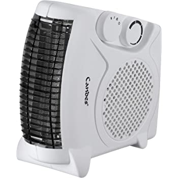 Candes Nova 2000W All in One Blower Silent Fan Room Heater (White)