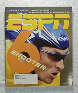 Lance Armstrong - 6 Shooter - ESPN Magazine - July 5, 2004 - Cycling, Tour De France