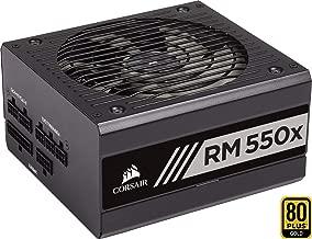 Corsair RM550x - Fuente de alimentación (Totalmente Modular, 80 Plus Gold, 550 W, EU) Negro