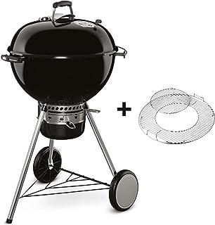 Weber Master-Touch GBS - Barbacoa Ø 57 cm, parrilla GBS, 2 cestas de carbón, negro humo (Black Gbs)