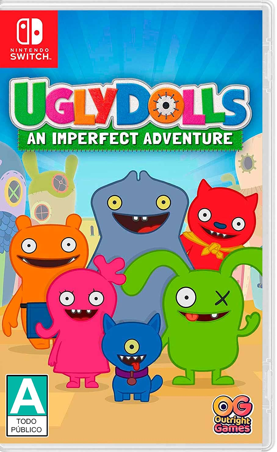 excellence Ugly Dolls: An Imperfect Quality inspection Switch - Nintendo Adventure