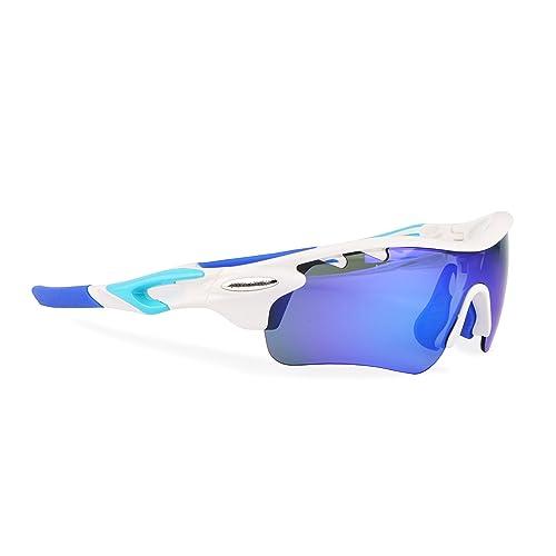 f832dcb275 Brown Labrador Gafas Ciclismo polarizadas con 5 Lentes Intercambiables UV  400. Gafas Deportivas, Running