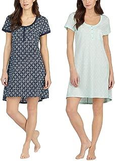 Lucky Brand Ladies ' 2 Pack Sleep Shirts