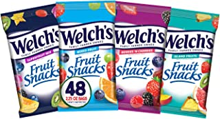Sponsored Ad - Welch's Fruit Snacks, Bulk Variety Pack with Mixed Fruit, Superfruit Mix, Island Fruits & Berries 'n Cherri...