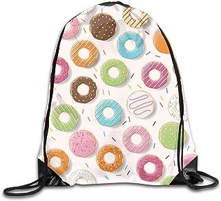 Mochilas/Bolsas de Gimnasia,Bolsas de Cuerdas, Hurts Donut Springfield Drawstring Backpack Bag Shoulder Bags Gym Bag for Adult