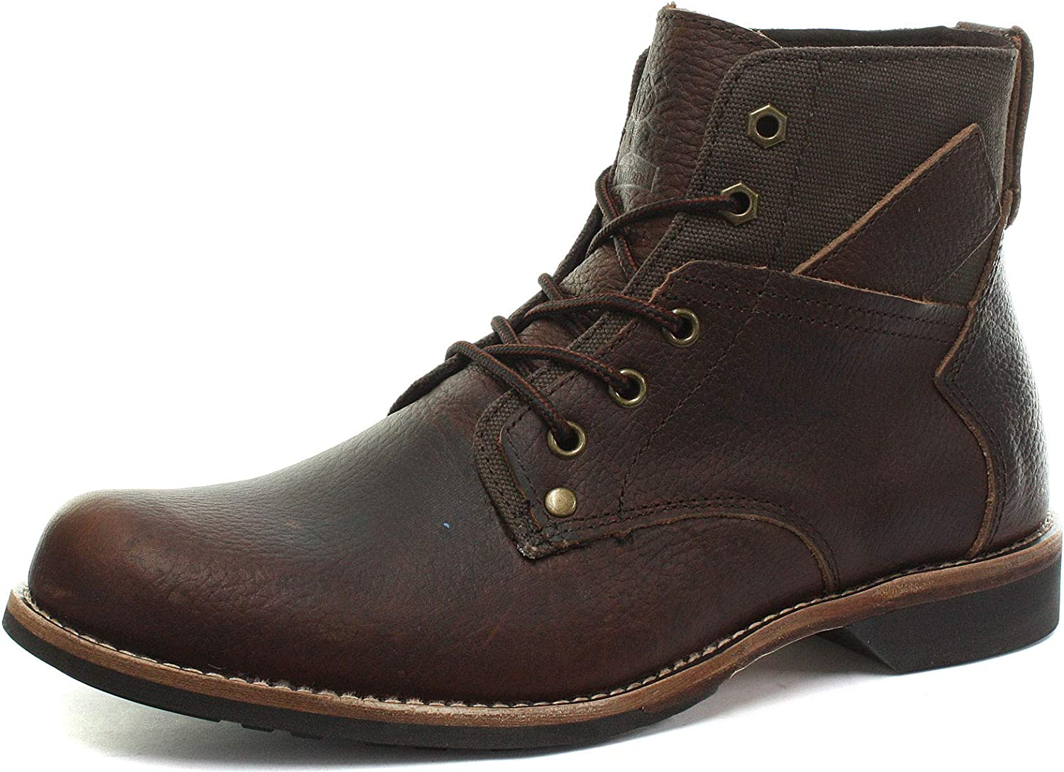 Woodland M9578 5 Eye Mens Ankle Boots