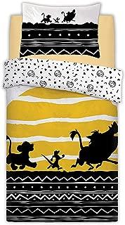 Disney The Lion King Tribal Sunrise Panel Single/Twin Bed Duvet Unfilled Quilt Cover Set