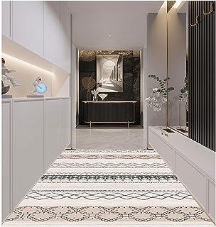 LIXIONG Alfombra Pasillo, Antideslizante Estera de Puerta del Guardabarros para El Dormitorio Cocina Entrada Puerta Princi...