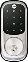 Yale Security YRD226-CBA-619 Assure Connected by August Touchscreen Smart Lock, Satin Nickel