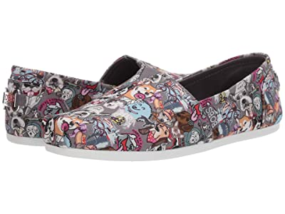 BOBS from SKECHERS Bobs Plush (Gray/Multi) Women