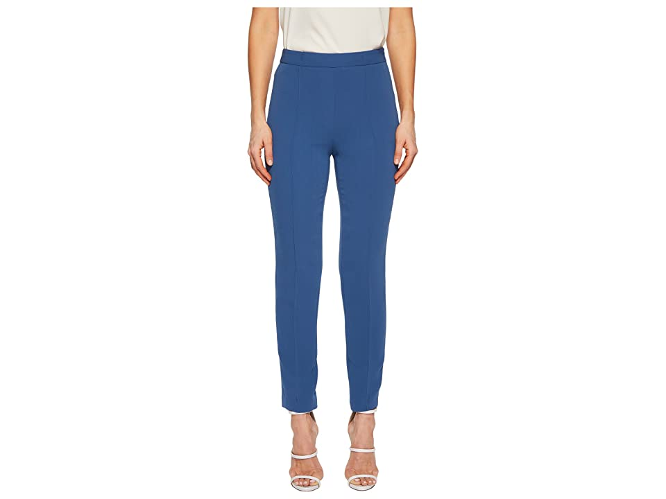 Boutique Moschino Cropped Dress Pants (Blue) Women