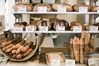 Loaves of Bread on Bakery Shelves Photo Photograph Cool Wall Decor Art Print Poster 36x24