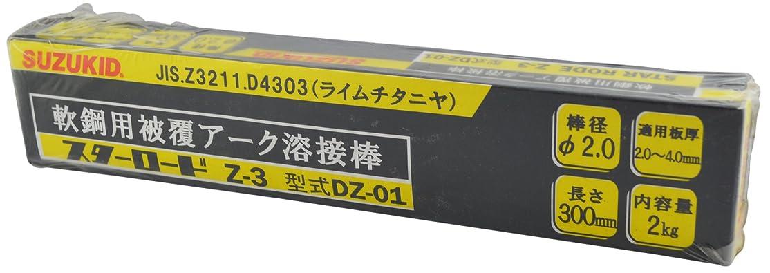 投票平野糞スズキッド(SUZUKID) Z-3 2.0φ*300mm 2kg DZ-01