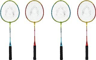 Bipan's Phoenix Badminton Racket Combo (Pack of 4 Badminton Rackets)