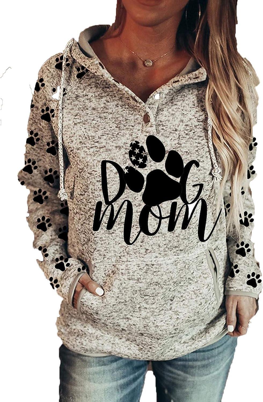 Long Sleeve Lightweight Sweatshirt Plaid Hoodies with Pockets Mommy Bear Sweatshirt Womens Mama Bear Hoodie