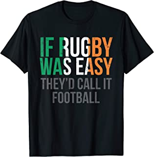 Funny Irish Rugby T Shirt - Ireland Rugby Shirt
