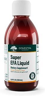 Genestra Brands - Super EFA Liquid - EFA Supplement to Support Cardiovascular, Brain, Eyes, and Nerves - 6.8 fl. oz. - Nat...