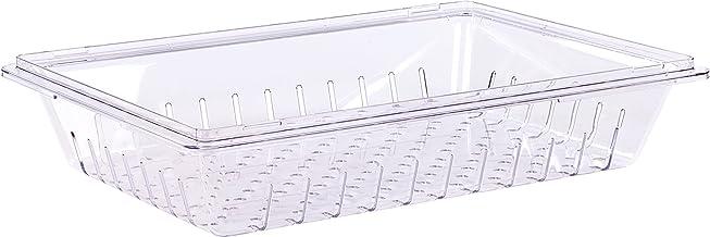 """حاويات تخزين شفافة قابلة للصف من كارليسلي 26"""" x 18"""" x 5"""" Colander 10628"""