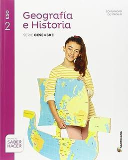 Geografía e Historia 2 eso Madrid + Cuaderno Santillana Educacion (Comunidad de Madrid)