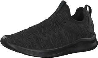 PUMA Women's Ignite Flash Evoknit WN's Blk Shoes, Black