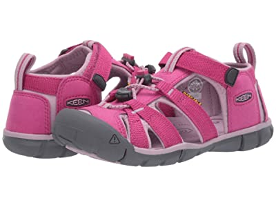 Keen Kids Seacamp II CNX (Little Kid/Big Kid) (Very Berry/Dawn Pink) Girls Shoes