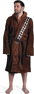 Albornoz unisex con capucha de Star Wars Groovy New Fleece Chewbacca para adultos