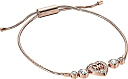 Michael Kors Love Is In The Air Heart and Crystal Slider Bracelet
