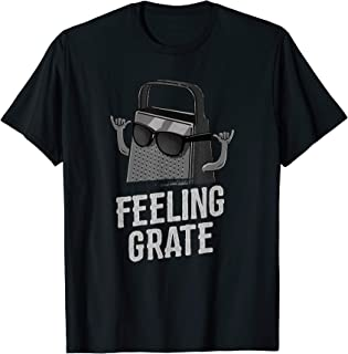 Feeling Grate - Funny Cheese Grater Foodie Pun T-Shirt