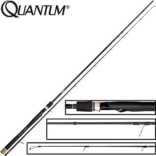 Schwarz-Silber Quantum Premium Spinnrute Drive Spin Angelrute Spinnfischen Allround Raubfisch-Angeln 2,70 m