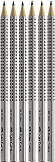 Faber Castell 2001 - Set de 6 lápices (dureza HB, con agarre ergonómico)