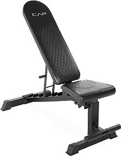 CAP Barbell Black CAP Adjustable Utility Weight Bench