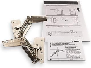 Handles /& Ironmongery HANDLEIRON0256 Free P/&P Bisagras para armario de cocina de puerta elevable con amortiguador