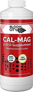 Bloom City Professional Grade Ultra Pure Cal-Mag Growing Fertilizer, Quart (32 oz)