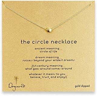 Yuanhua Women Necklaces Sterling Silver Pendant Gold Plated Necklace Jewellery for Ladies Girls