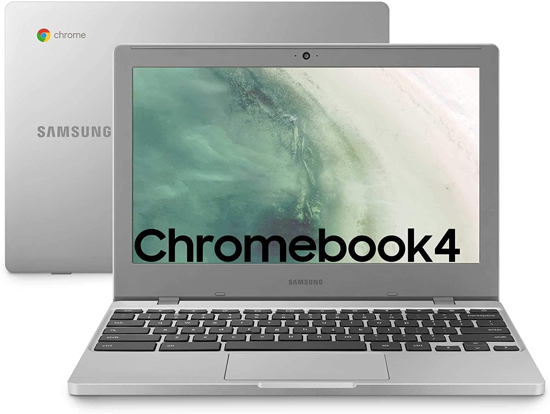 Samsung Chromebook 4 - Laptop 64GB, 4GB RAM, Platin Titan