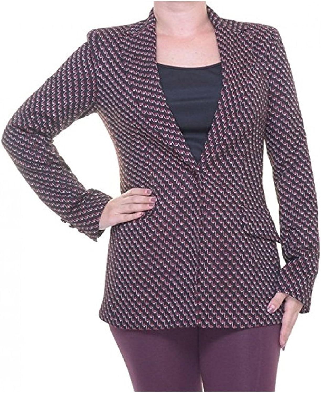 Rachel Roy Lean Blazer  Cocoa Combo, Size 2